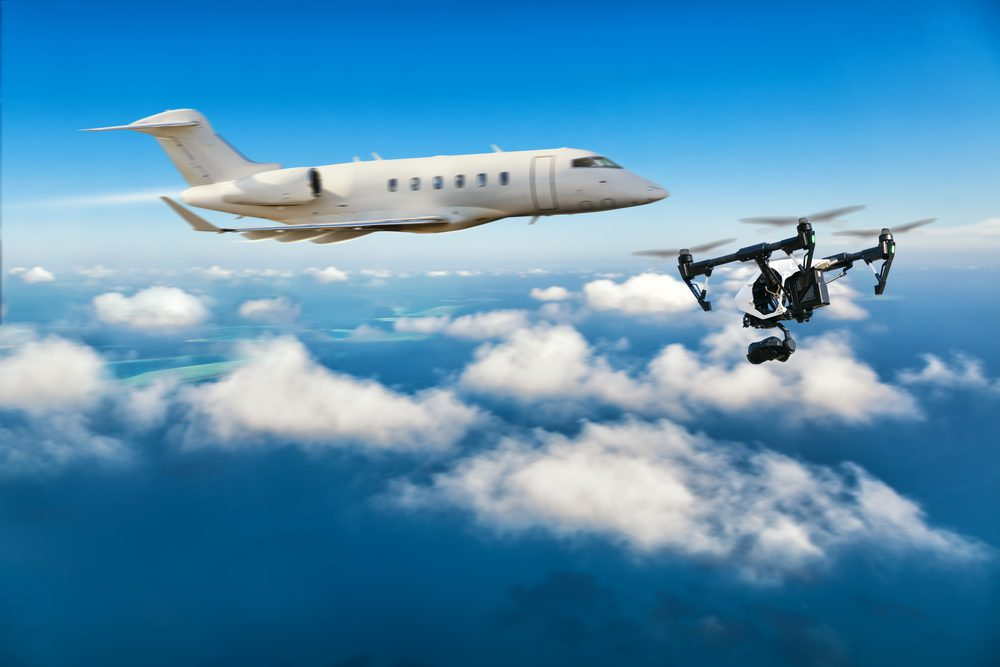 With thousands of recreational drones in the sky at any given moment, air safety experts agree that a major drone-aircraft collision isjust a matter of time.