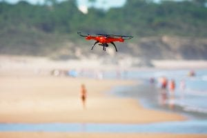 On Oct. 2nd, 2018, it was reported that a drone flown in an area reserved for emergency aircraft disrupted the rescue operation of a boy who was attacked by a shark.
