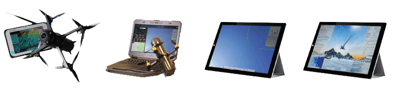 dronelock tablets and drone